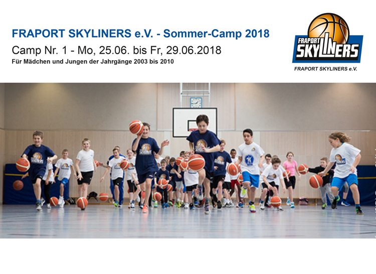 FRAPORT SKYLINERS e.V. - Sommer-Camp 2018