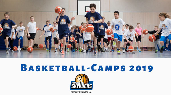 Basketball-Camps des FRAPORT SKYLINERS e.V. 2019